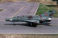 Bulgarian Air Force Mikoyan-Gurevich MiG-21bis Lofting-6
