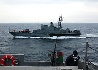 Bulgarian Navy corvette Bodri