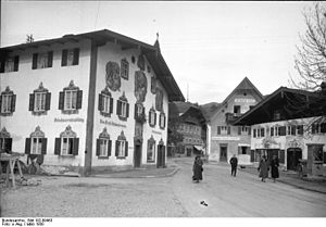 Oberammergau - Image: Bundesarchiv Bild 102 09463, Oberammergau