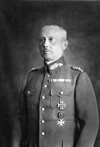 Werner von Fritsch - Werner von Fritsch, 1932