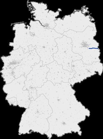 Bundesautobahn 12 - Image: Bundesautobahn 12 map