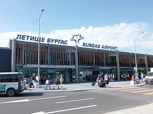 Burgas Airport - Exterior of Terminal 2