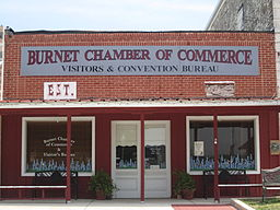 Burnet Chamber of Commerce office, Burnet, TX IMG 1988.JPG