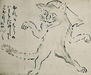 <i>Bakeneko</i> type of Japanese yōkai