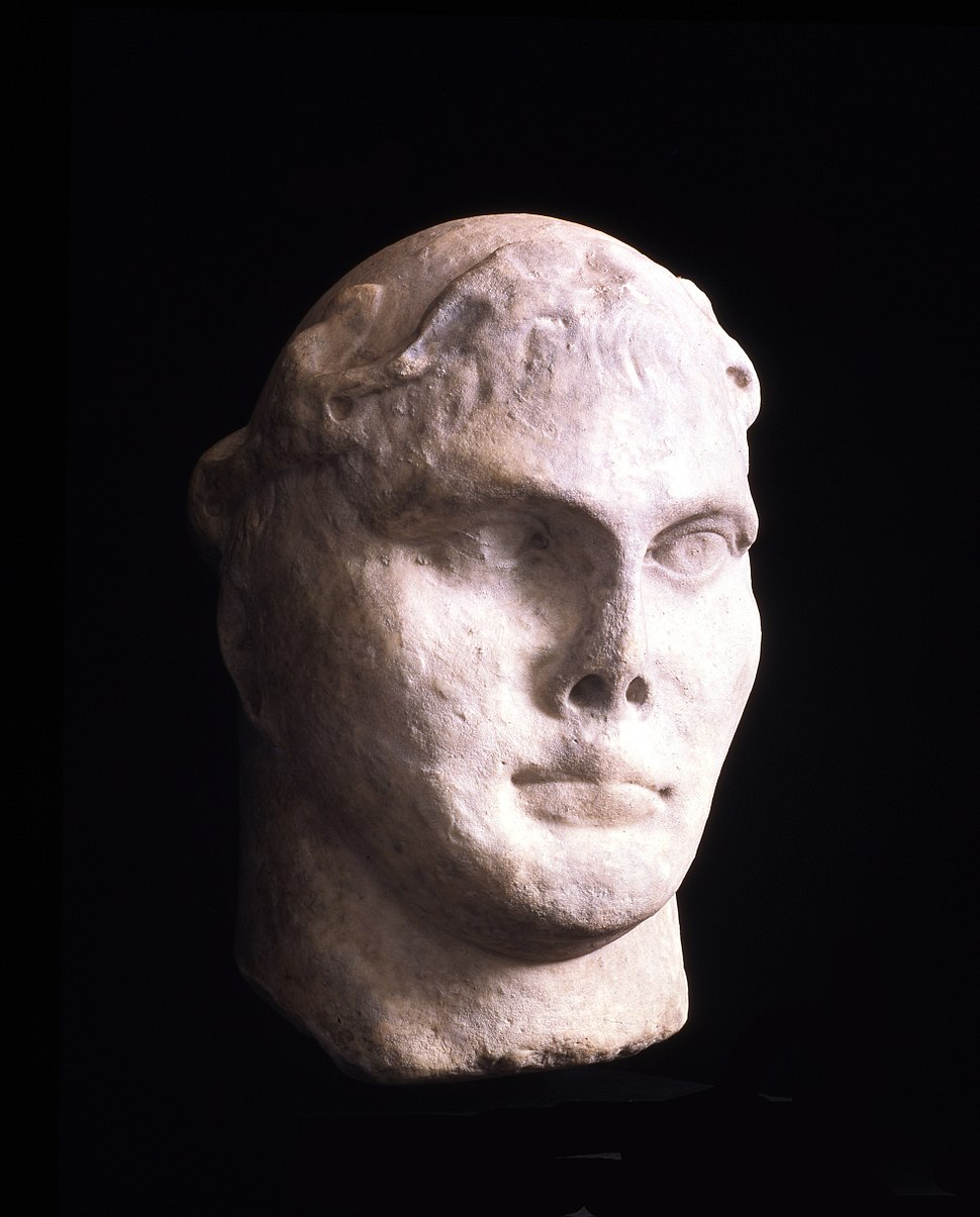 Bust of Constantine I from York YORYM 1998 23