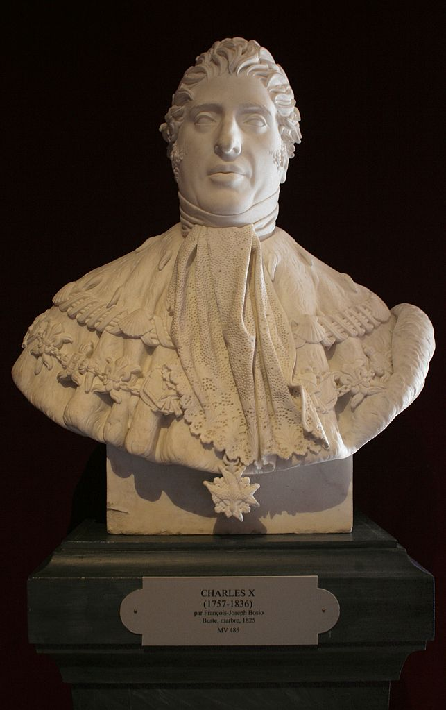 Buste de charles x 1825 fran ois joseph bosio 01 for 1825 2