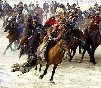 Balkh Province - Buzkashi sport
