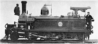 2-6-2 - CGR 2nd Class of 1875, the first 2-6-2