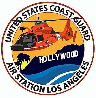 Coast Guard Air Station Los Angeles - Unit Patch U.S. Coast Guard Air Station Los Angeles