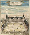 CHateau de Plessis-les-Tours Courtyard Louis Boudan.jpg