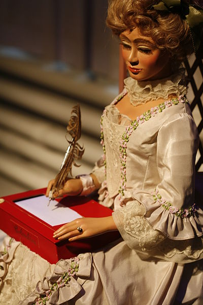An automaton exhibited at CIMA