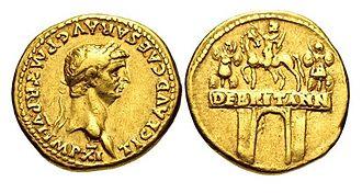 Arch of Claudius (British victory) - Image: CLAUDIUS RIC I 33 831177