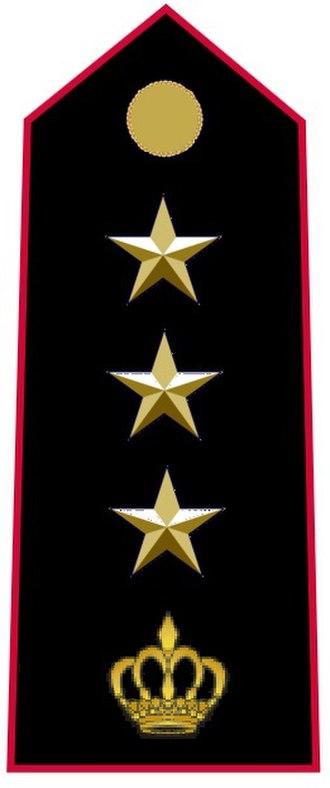 Colonel - Image: COL carabiniers Monaco