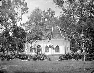 Rembang Regency - Dutch East Indies colonial church in Lasem (Rembang).