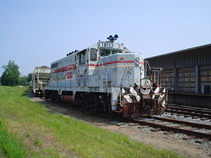 Caldwell County Railroad - Image: CWCY 1811