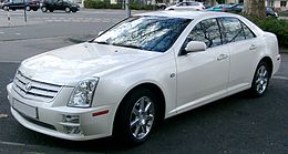 Cadillac STS front 20080318.jpg