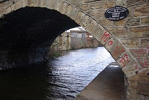 Listed buildings in Sheffield S4 - Image: Cadman Bridge geograph.org.uk 725595