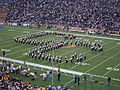 Cal Band performing at halftime at UCLA at Cal 10-16-04 5.JPG
