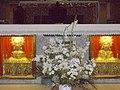 Calahorra - Catedral, altar mayor, bustos-relicarios de los santos Emeterio y Celedonio.jpg
