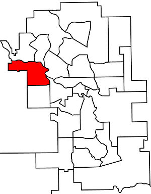 Calgary-Bow - 2010 boundaries