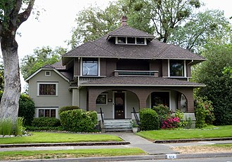 National Register of Historic Places listings in Josephine County, Oregon - Image: Calhoun House Grants Pass Oregon