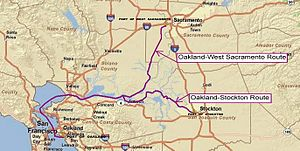Port of Sacramento - California's Green Trade Corridor Marine Highway project to Port of Sacramento
