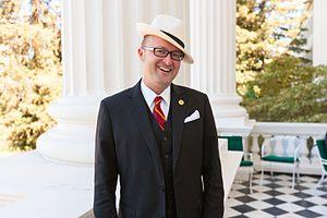 Matthew Harper - Image: California State Assemblyman Matthew Harper, 74th District (Republican Huntington Beach) Capitol Portico Headshot 2016 (380597)