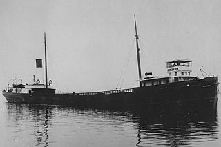 SS <i>Lakeland</i> Steel ship wrecked in Lake Michigan