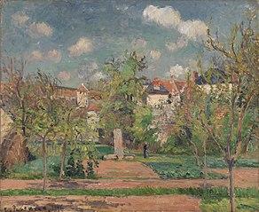 Garden in Full Sunlight (Le Jardin au grand soleil, Pontoise)