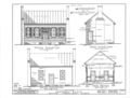 Campbell House, State Highway 20, Tennessee Street, Courtland, Lawrence County, AL HABS ALA,40-CORT,1- (sheet 2 of 4).png