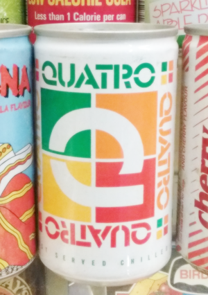 Quatro (beverage) - From Museum of Brands, Packaging and Advertising