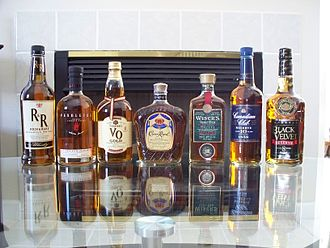 Canadian whisky - Various Canadian whiskies