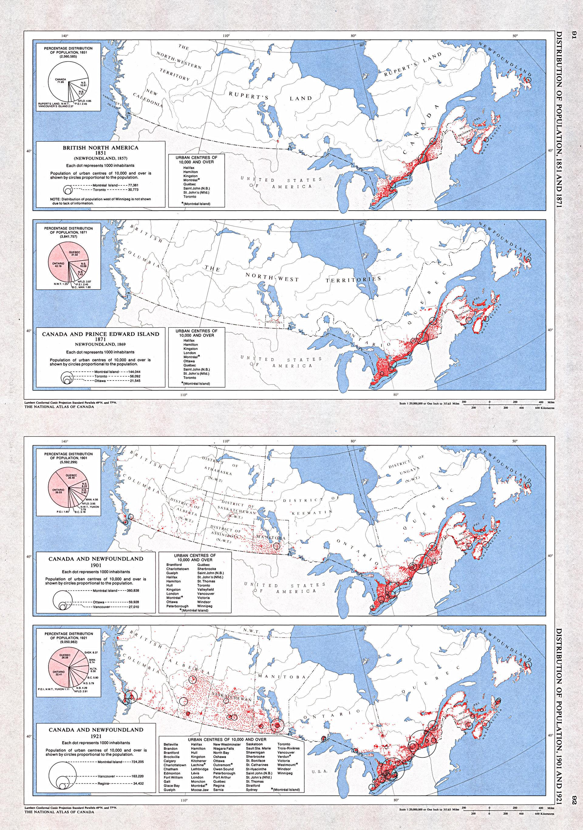 List Of Quebec Cities