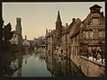 Canal and Belfry, Bruges, Belgium LOC 3887197376.jpg