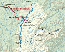 Canal De Bourgogne Carte.Canal De Bourgogne Wikipedia