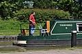 Canal narrowboat at Alvecote - geograph.org.uk - 1323097.jpg