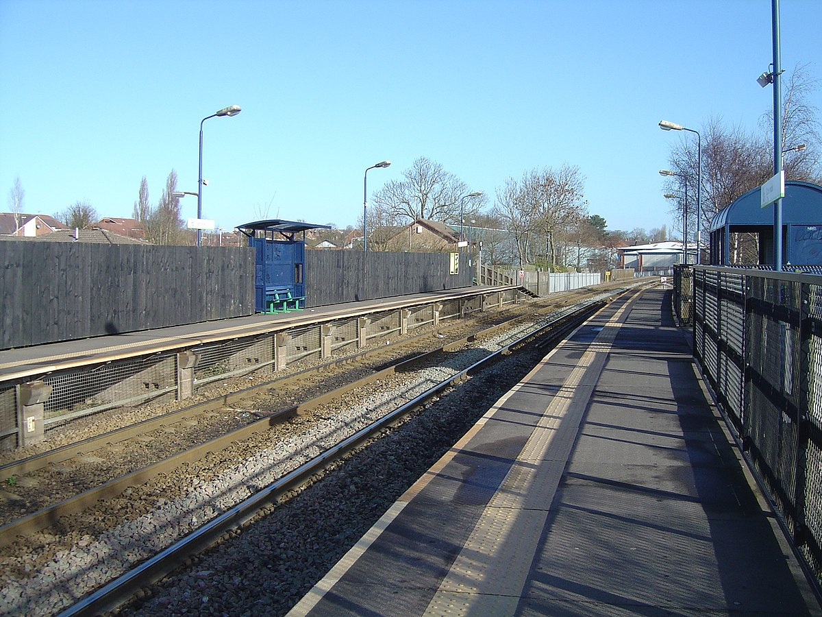 Cannock railway station - Wikipedia