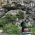 Canoës en haut des Gorges de l'Ardèche.jpg