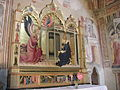 Cappella bartolini salimbeni, annunciazione di lorenzo monaco 03.JPG
