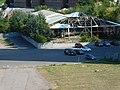 Car park and abandoned pavilion; Dnipro, Ukraine; 24.08.19.jpg