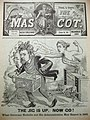 Caricature of Francis T. Nicholls - The Jig Is Up Now Go - The Mascot of New Orleans 1891.jpg