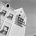 Carillon aan een gevel in Willemstad, Bestanddeelnr 252-3065.jpg