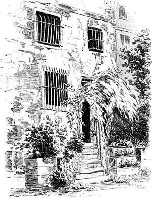 Carmes Prison - The steps of the couvent des Carmes.