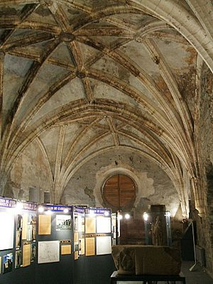 Aldonza Martínez de Silva - Refectory of the Monastery of Carracedo, of which Aldonza was a patron.