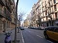 Carrer del Rosselló, Barcelona, December 2014 (02).JPG