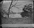 Cars of U.S. Military Railroad, and Bridge Built by Soldiers. Orange and Alexandria Railroad. (3995355189) (2).jpg