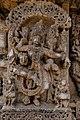 Carvings on Lakshmi Narasimha Temple, Nuggehalli 19.jpg