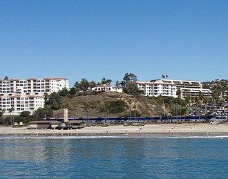 Casa Romantica - Casa Romantica as viewed from San Clemente Pier
