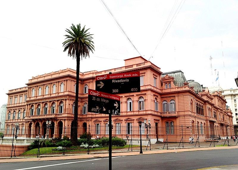 File casa rosada buenos wikimedia commons for Casa jardin hostel buenos aires