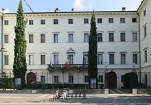 Casa natale di Antonio Rosmini, in Corso Rosmini, a Rovereto